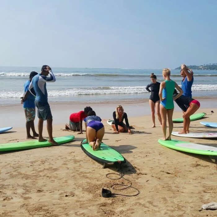Surfen in Ahangama