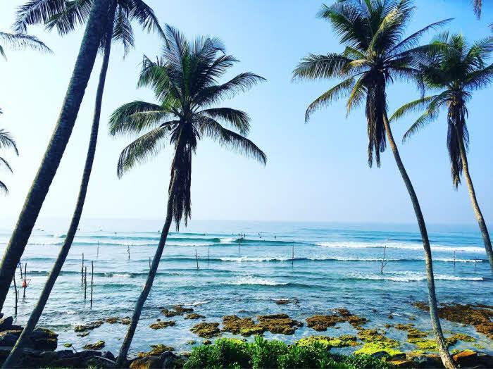 Sri Lanka Wellen