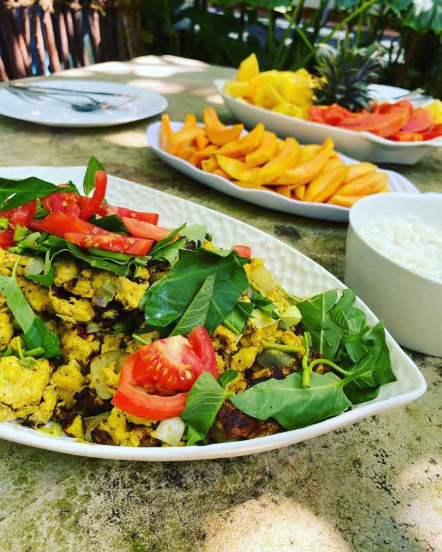 Tropisches Frühstück