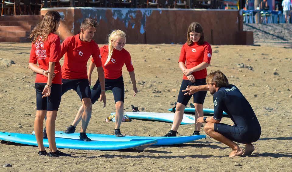 Surfkurse Teneriffa