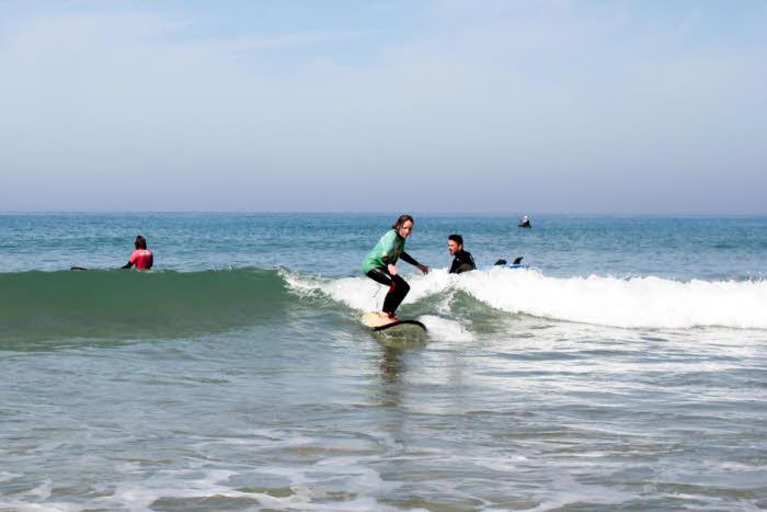 Wellenreiten lernen Andalusien