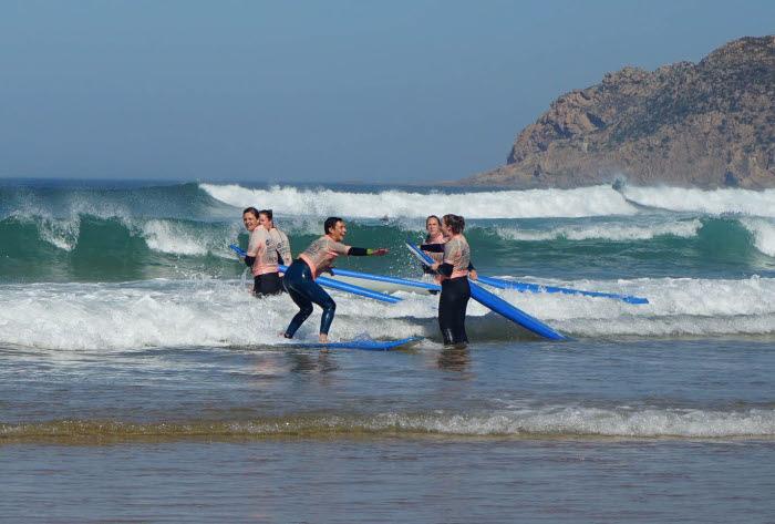 Surfschule in Guincho