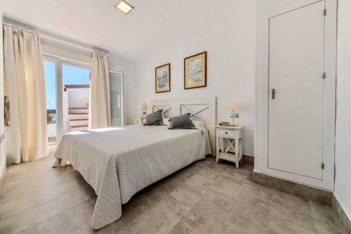 Schlafzimmer Beach Apartments