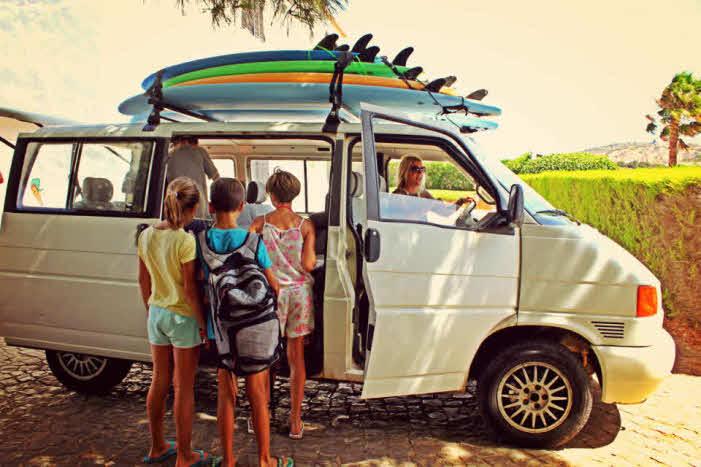 Surfurlaub Algarve Familie
