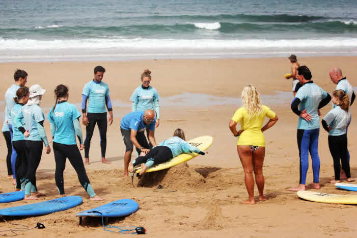 Surfschule Familie Algarve