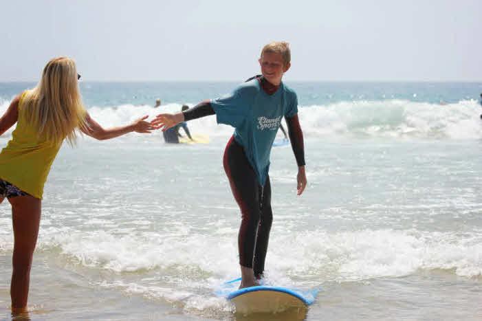Kindersurfkurs Algarve