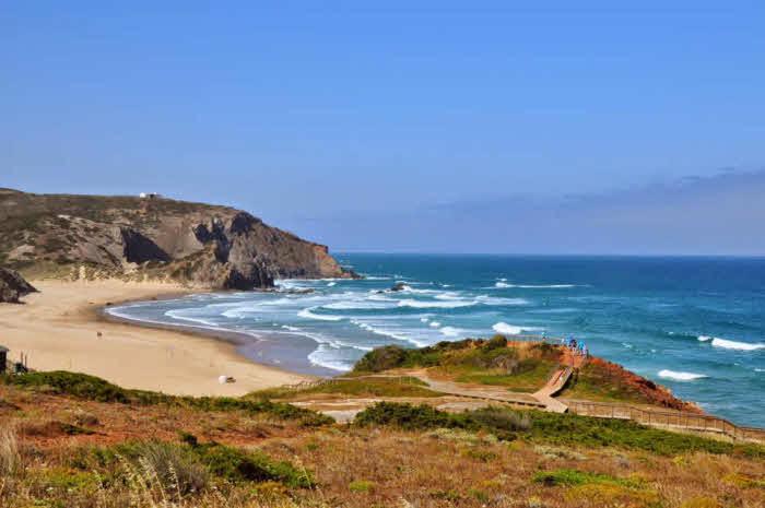Surfen mit der Familie Algarve