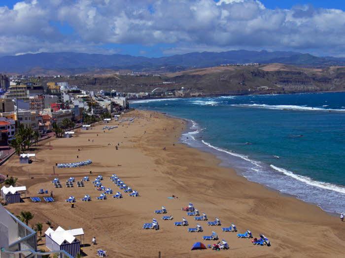Surfen lernen Gran Canaria