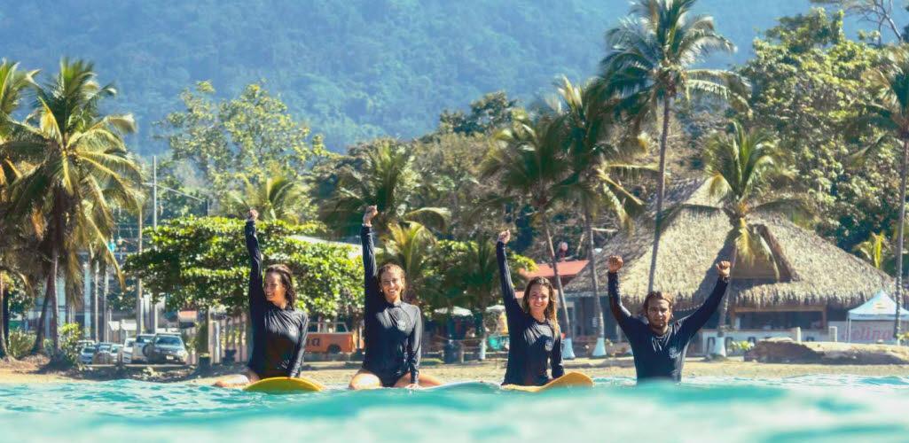 Playa Jaco Surfen