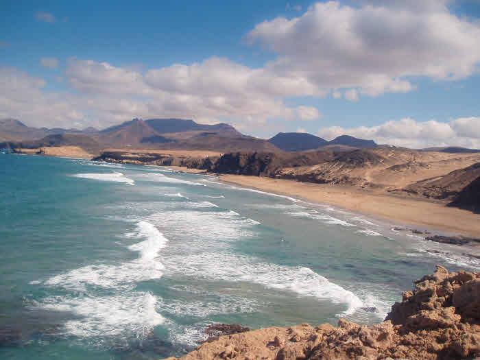 Strand von La Pared