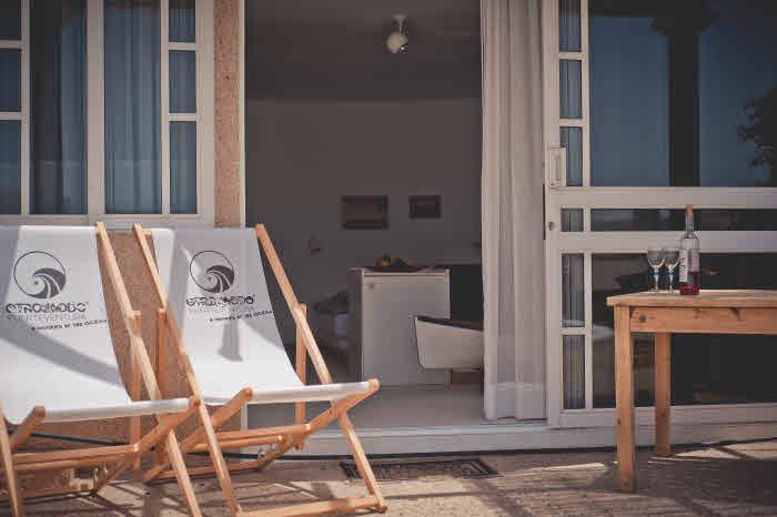 Studio im Surfcamp mit Terrasse