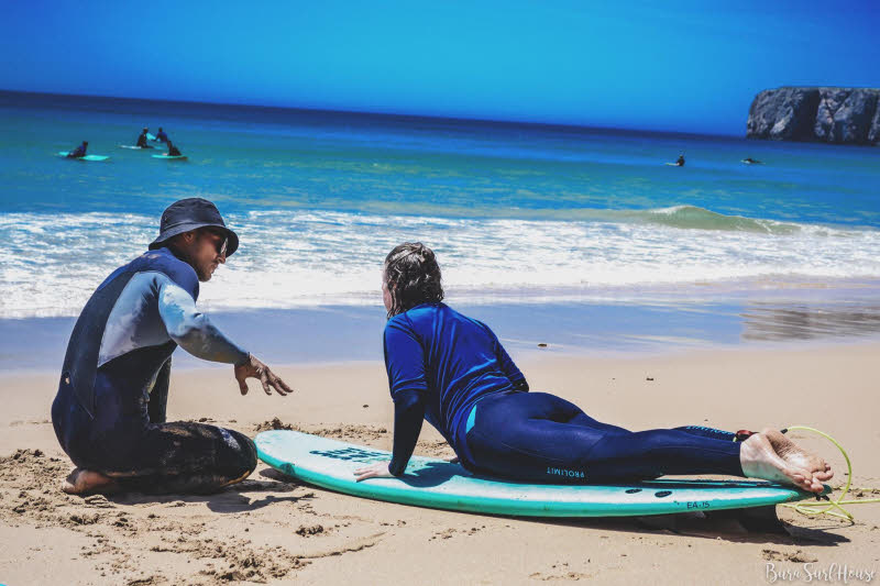 Surfen lernen Algarve