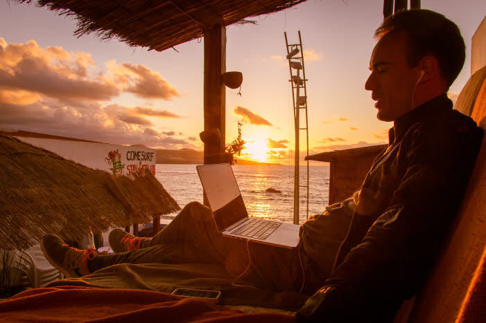 Sonnenuntergang Las Palmas