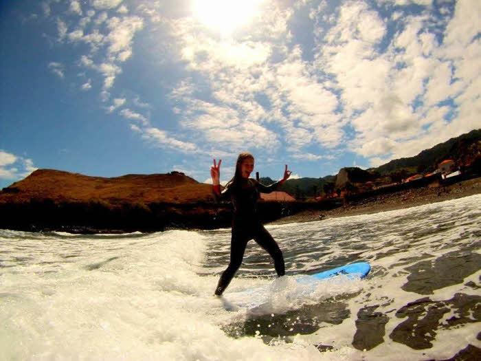 Surfschule Madeira