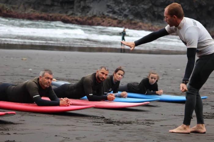 Surfkurs Madeira