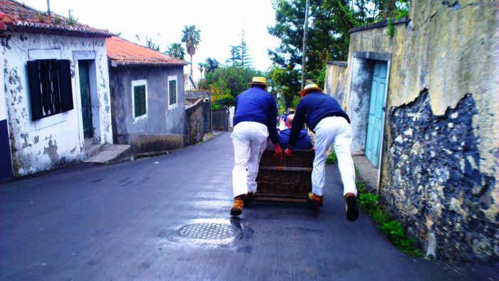 Korbschlitten Madeira