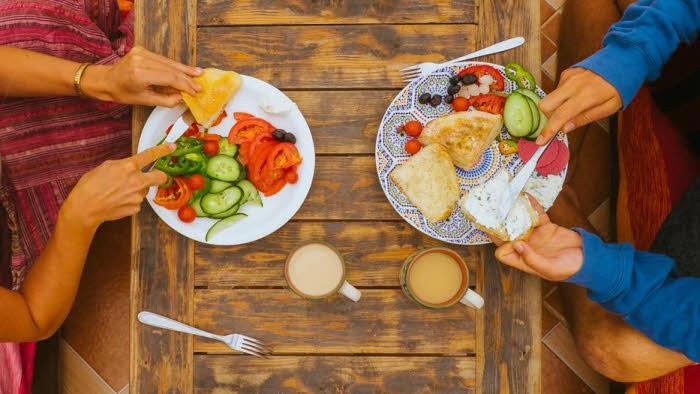 Marokko Frühstück