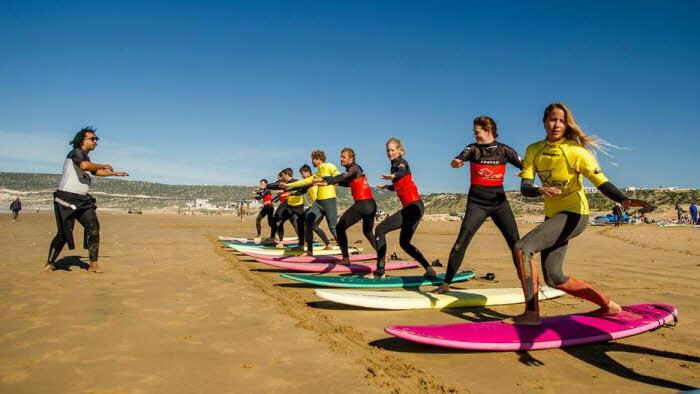 Surfen Aourir Marokko