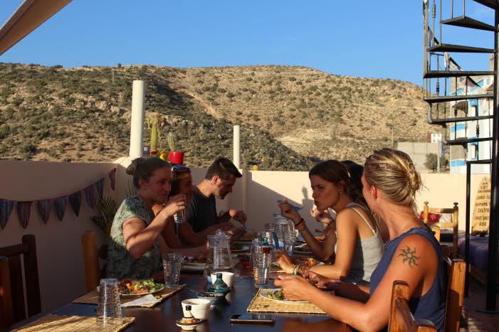 Surfcamp Abendessen