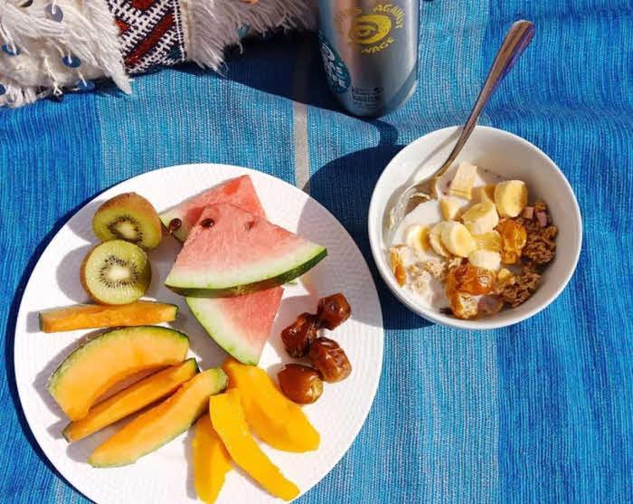 Frühstück Surfcamp