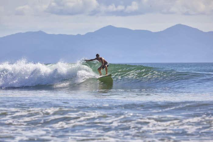 Wellenreiten in Nicaragua