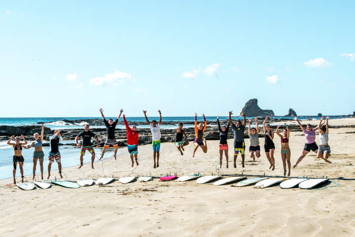 Surfkurs Nicaragua