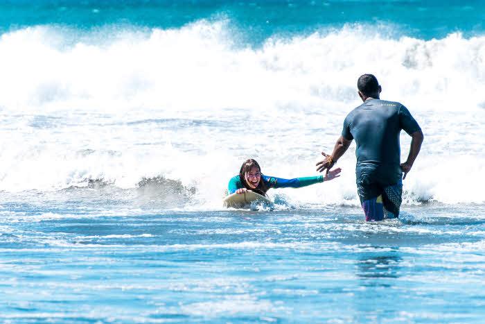 Surfen Playa Maderas