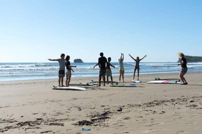 Playa Maderas Surfschule