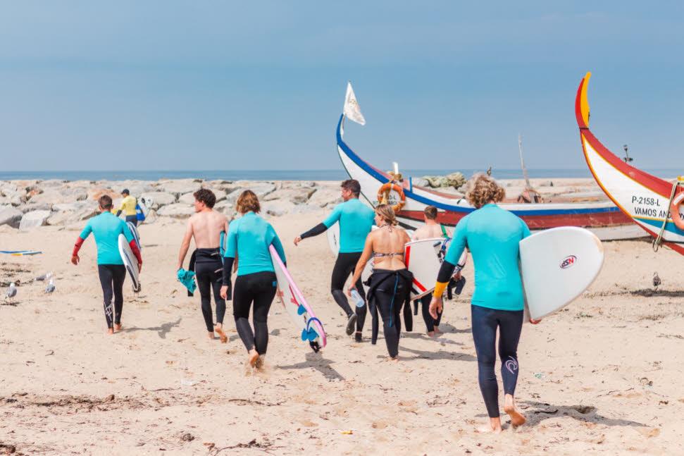 Surfen Nordportugal