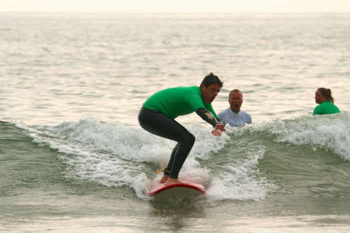 Fortgeschrittene Surfkurs
