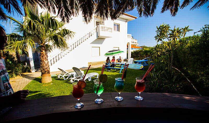 Garten mit Bar