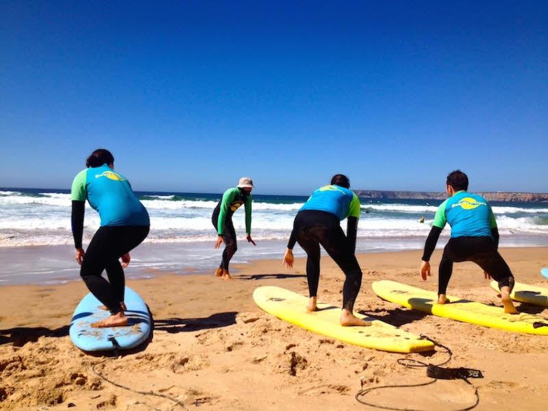 Surfen Sagres