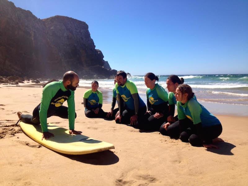 Sagres Surfkurse