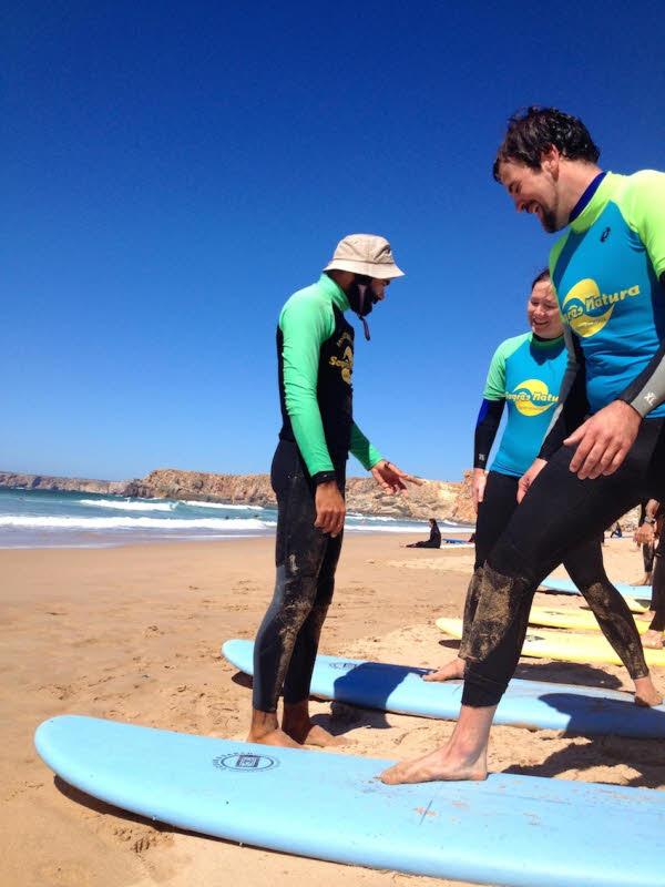 Surfen in Sagres
