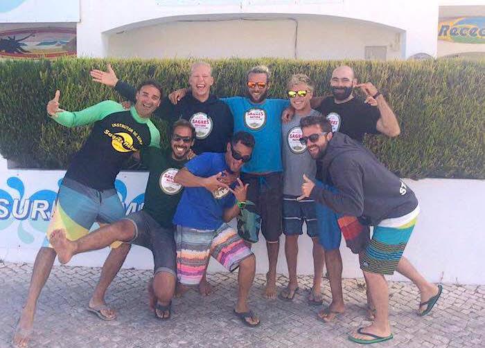 Surfcamp Sagres Surflehrer