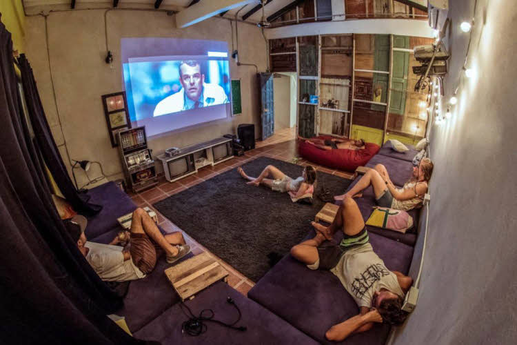 Surfcamp Movie Room
