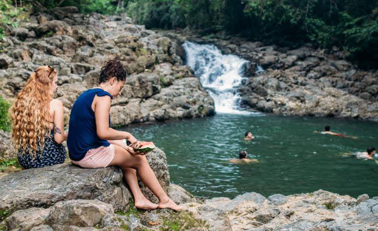 Wasserfälle bei Montezuma
