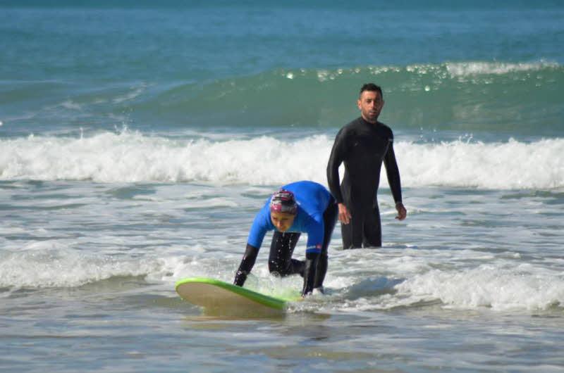 Wellenreiten Sardinien