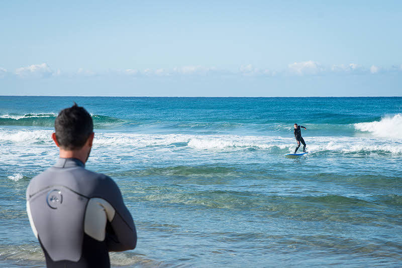 Surfen Sardinien
