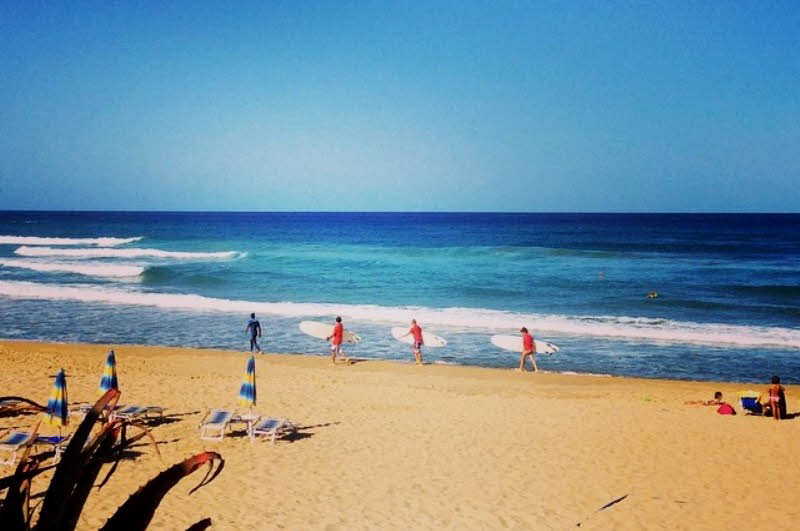 Surfschule Buggerru Sardinien