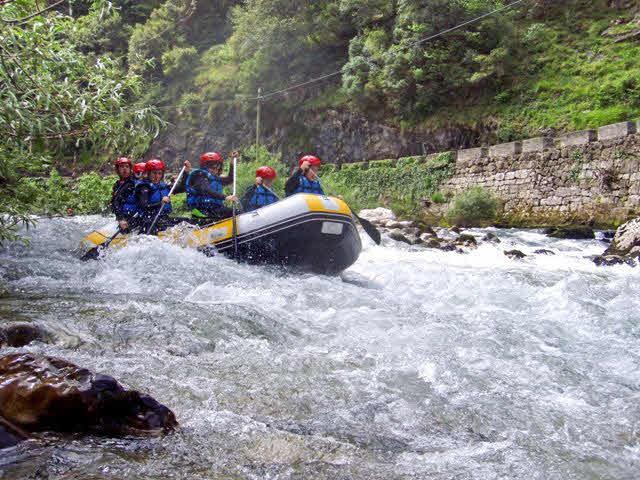 Rafting Kantabrien