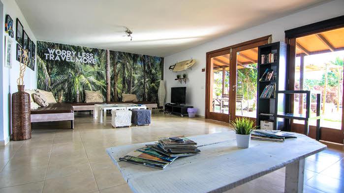 Wohnbereich Surfcamp