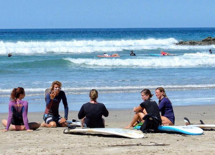 Surfkurs Costa Rica
