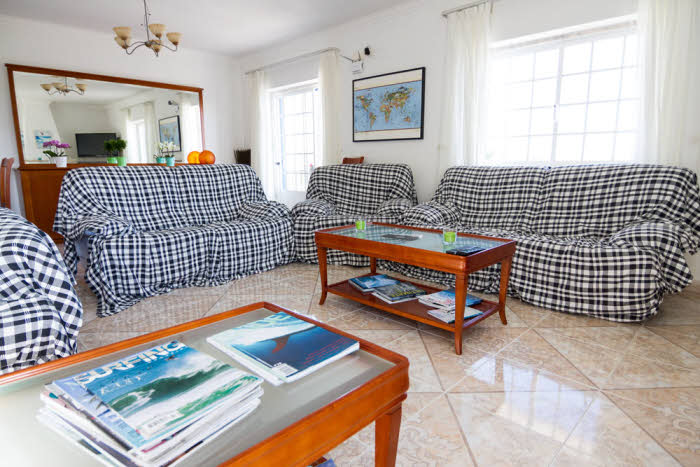 Wohnzimmer Ericeira Surf House