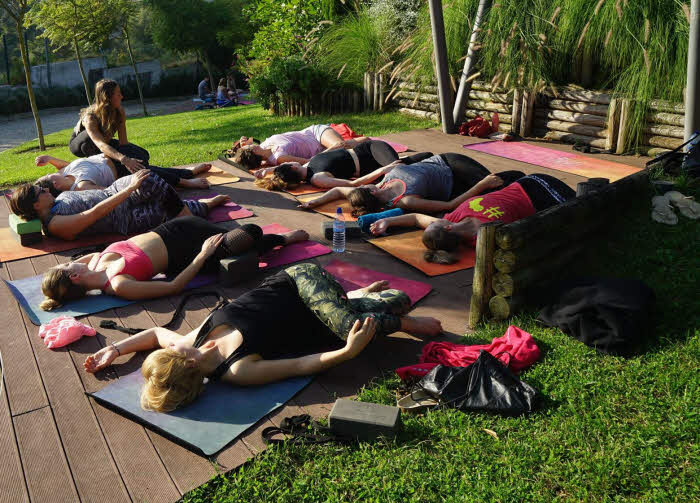 Yin-Yoga Session Cascais