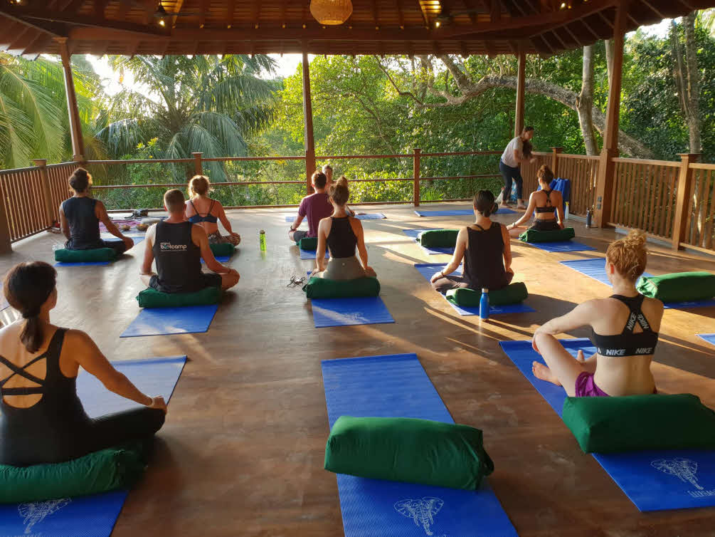 sri lanka yoga camp