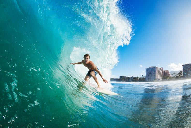 Surfreisen Surfen lernen