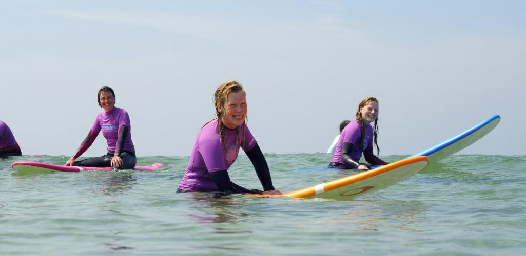 Surfcamp Lissabon Frauen