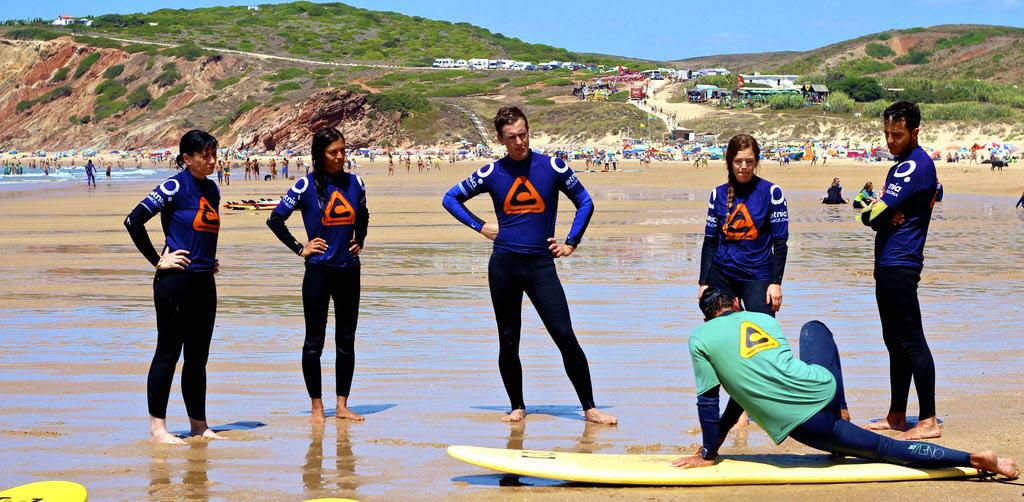Surfcamp Carrapateira Surfkurs