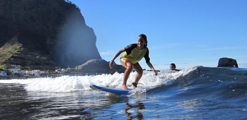 Surfcamp Madeira Surfschule